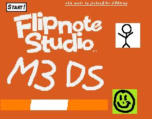 Thumbnail 1 for a animated* flipnote studio skin